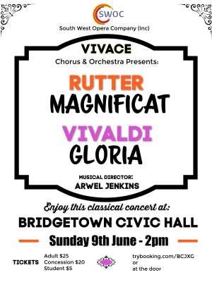 Vivace and Rutter - Bridgetown