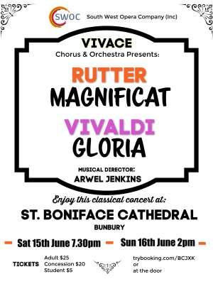 Vivace and Rutter SWOC Bunbury