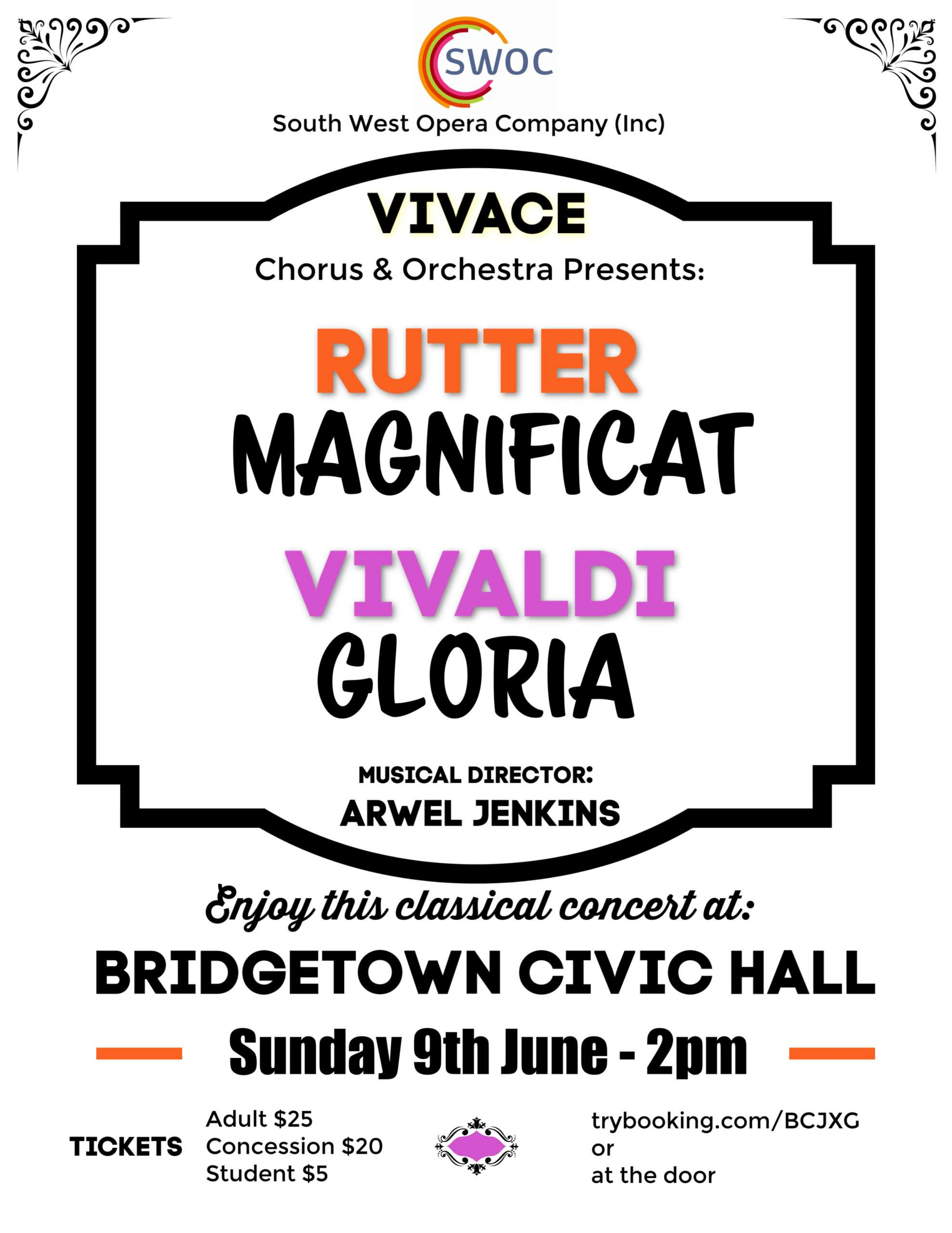 Vivace and Rutter - Bridgetown