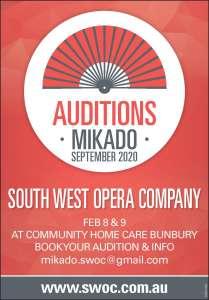 Mikado Auditions
