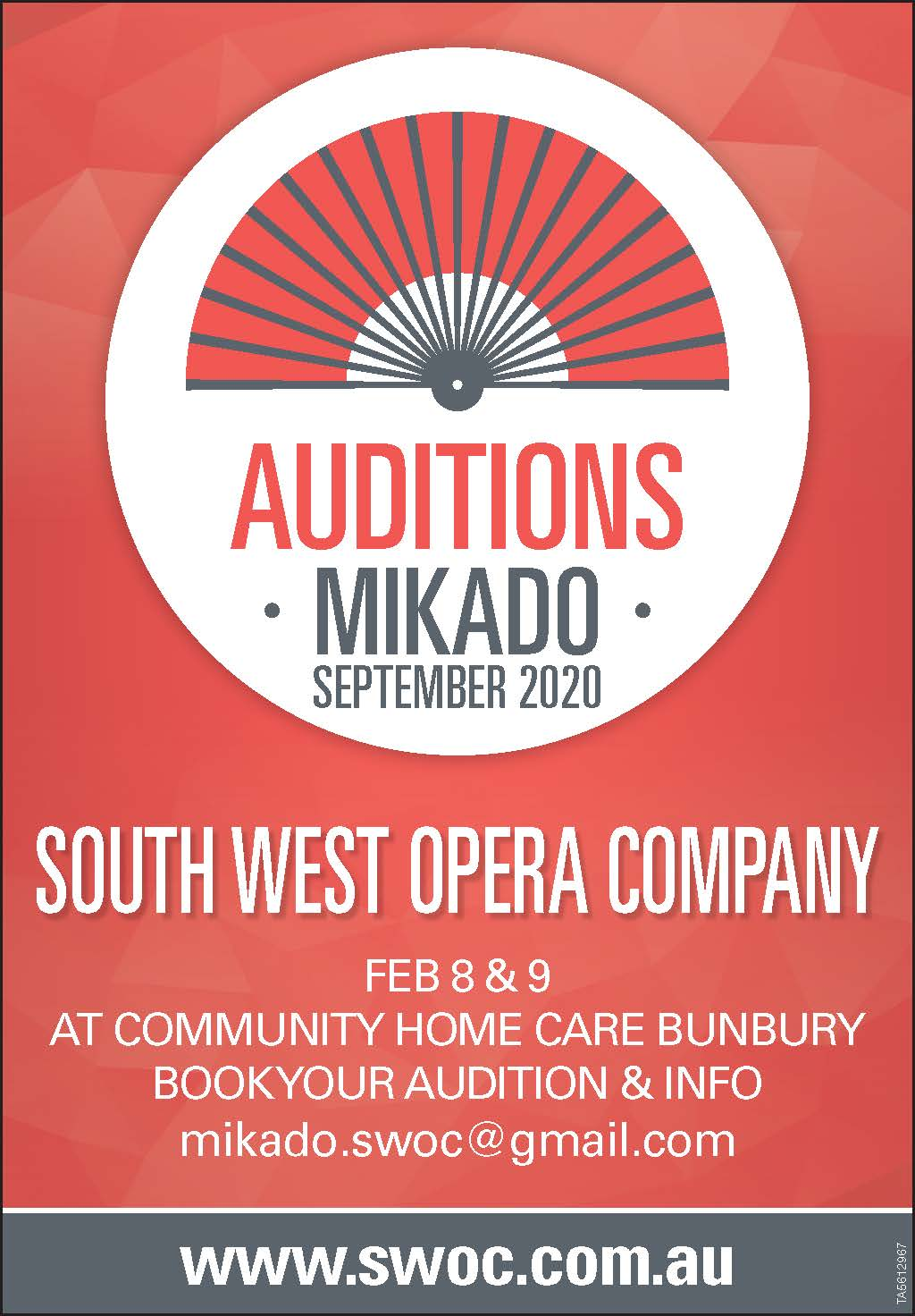 Mikado Auditions